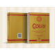 THE QUR'AN, ARABIC TEXT WITH  LATIN SPANISH MEANINGS (Two columns)