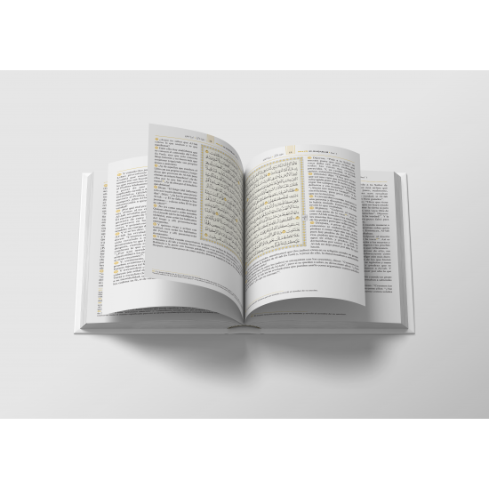 THE QUR'AN, ARABIC TEXT WITH LATIN SPANISH MEANINGS